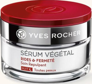 Serum Vegetal Yves Rocher - косметика anti-age, ночной крем, средство от морщин, омолаживающий крем для кожи лица