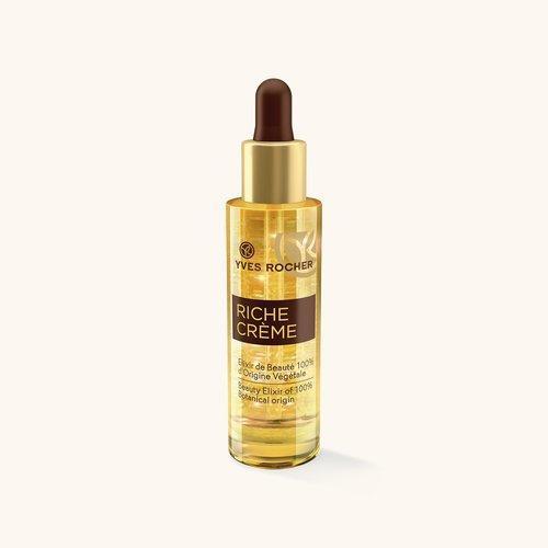 Косметика Yves Rocher линия Riche Creme, активные сыворотки, уход за сухой кожей