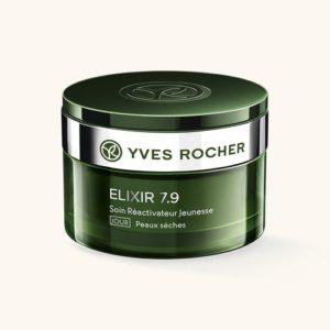 Косметика Yves Rocher - линия Elixir 7,9 - уход Анти-стресс, косметика anti-age, косметика анти-стресс, уход за сухой кожей лица, дневной крем