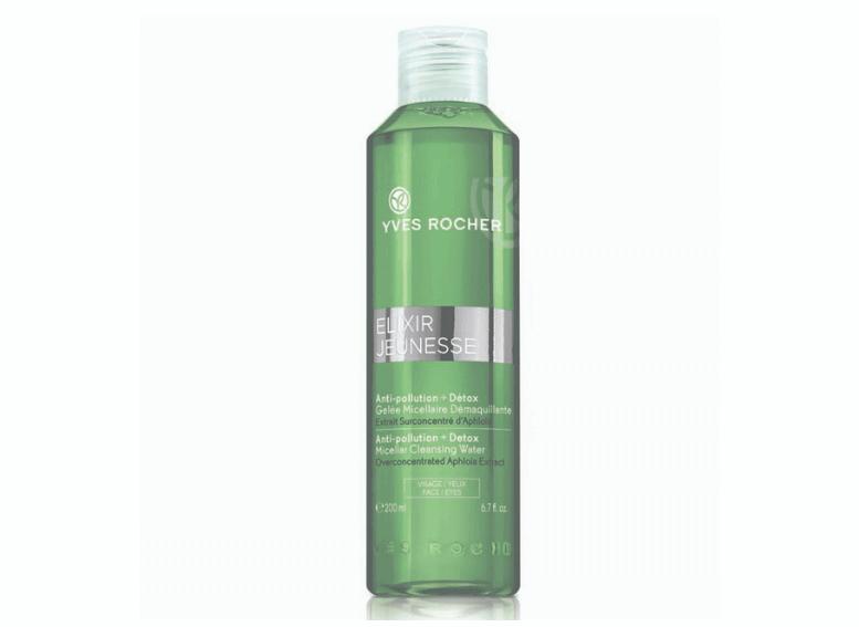 Косметика Yves Rocher Elixir Jeunesse детокс и очищение кожи