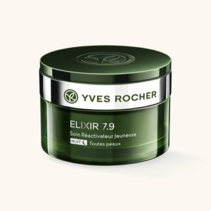 Yves Rocher Elixir 7,9 - уход за кожей анти-стресс, ночной крем