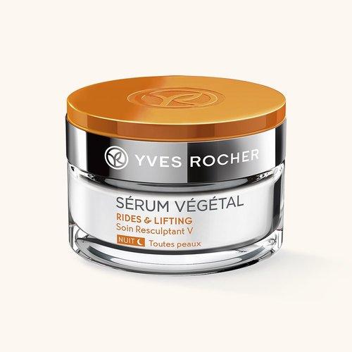 Косметика Yves Rocher - лифтинг овала лица и шеи, ночной крем, косметика против морщин, косметика anti-age, косметика для зрелой кожи