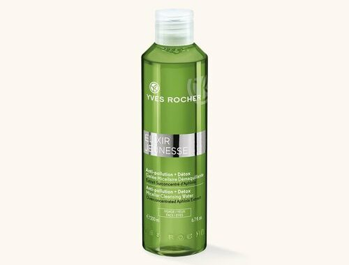 Косметика Yves Rocher Elixir Jeunesse детокс и очищение кожи, мицеллярный гель ив роше, очищающий гель, средства для умывания, очищающие средства