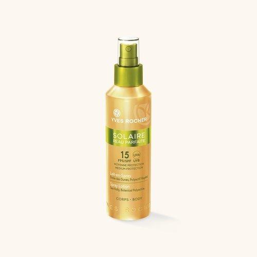 """""""Средства для загара на солнце от Yves Rocher, солнцезащитное молочко для тела, защита кожи от солнца, как получить идеальный загар"""