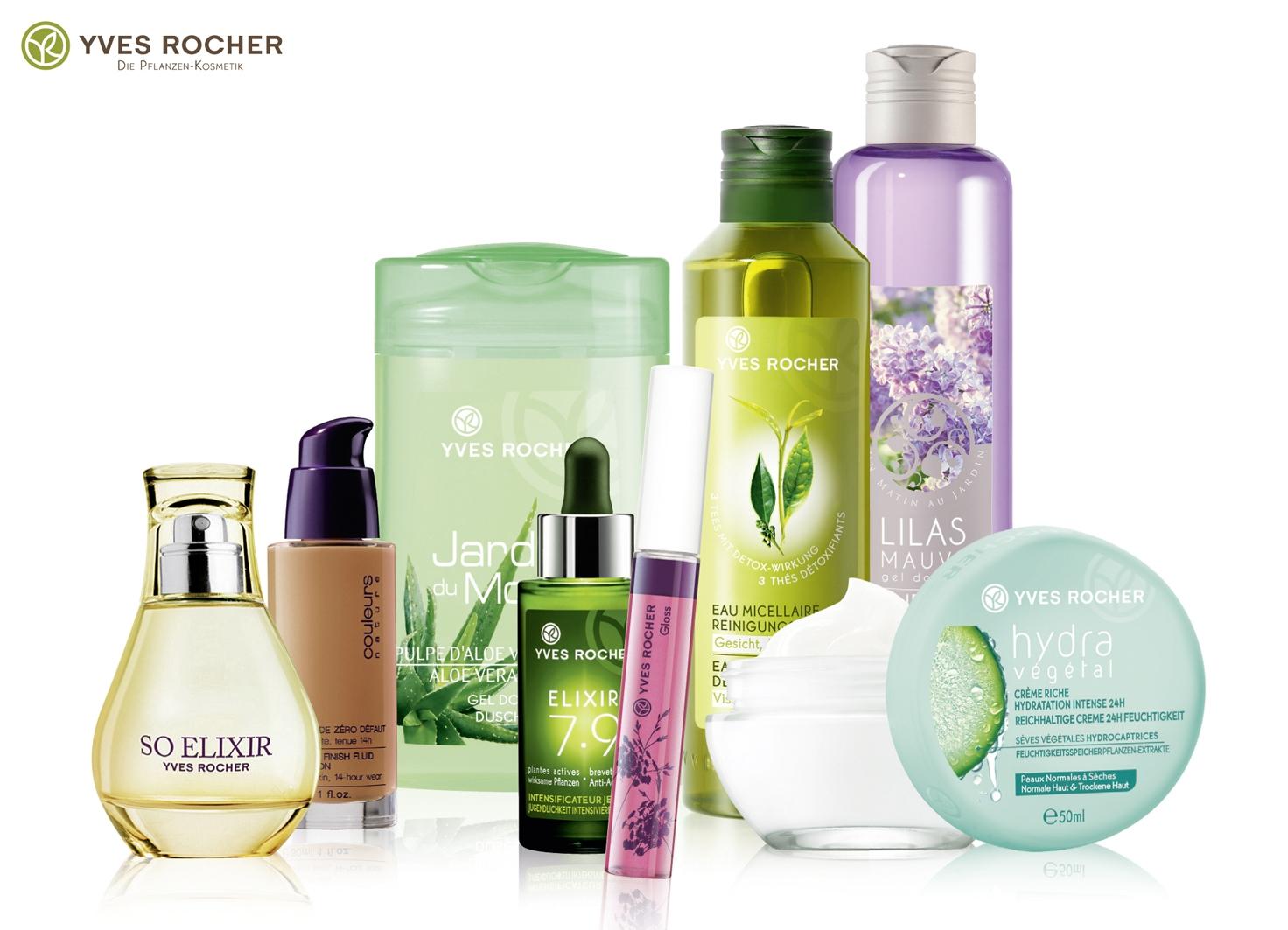 Косметика Yves Rocher история марки, демакияж, мицеллярная вода, средства для снятия макияжа