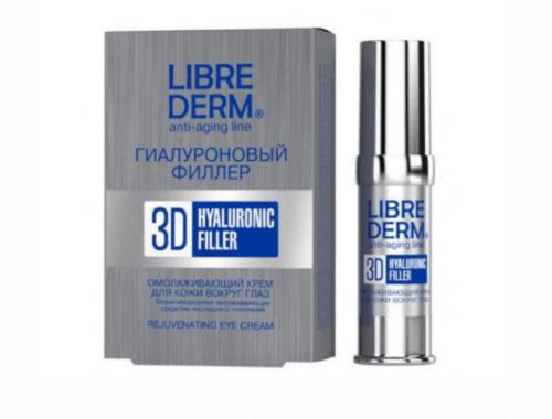 3d hyaluronic filler Librederm для кожи вокруг глаз и губ
