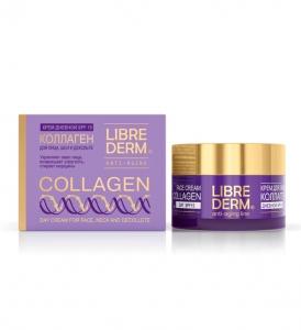 Косметика Librederm коллекция Коллаген anti-age, увлажняющий крем, омолаживающий крем, уход за зрелой кожей лица, крем от морщин