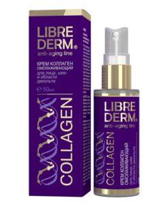 """LIBREDERM - """"Коллаген"""" - уход за кожей рук, шеи, декольте, косметика anti-age, крем от морщин, косметика против старения кожи"""