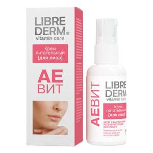 LIBREDERM - АЕВИТ для ухода за кожей лица, уход за сухой кожей лица, увлажняющий крем