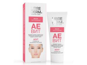 LIBREDERM - АЕВИТ для ухода за кожей лица, уход за сухой кожей лица, питательная маска для кожи лица