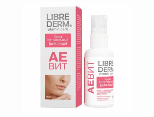 Librederm АЕВИТ для ухода за сухой кожей лица