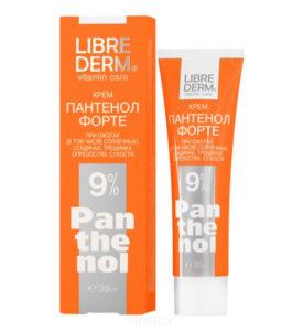 LIBREDERM - средства с пантенолом, крем с пантенолом, восстановление поврежденной кожи, заживление кожи
