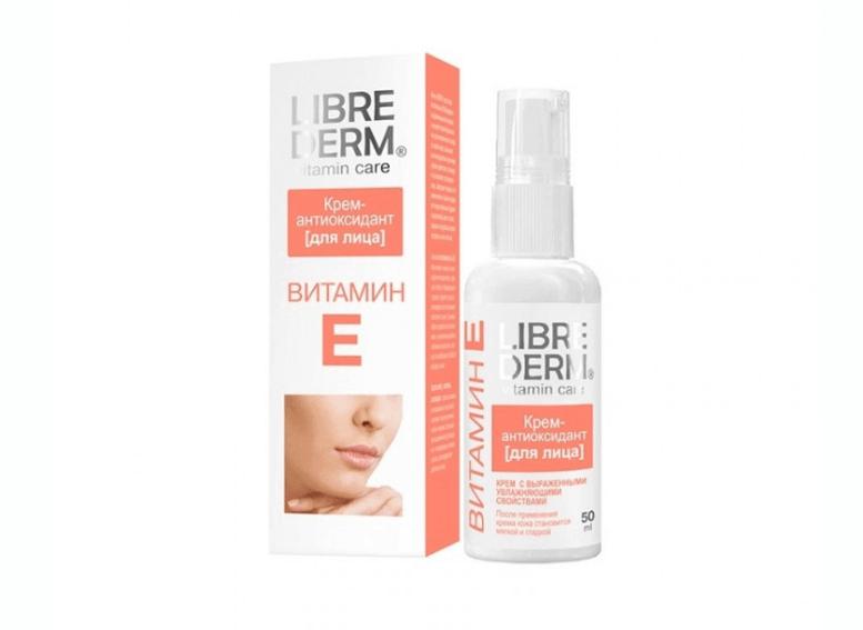 Librederm ВИТАМИН Е крем для увлажнения кожи