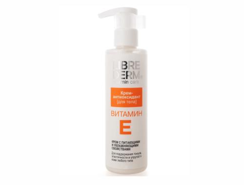 Librederm Витамин Е антиоксидант, маска и уход за кожей тела