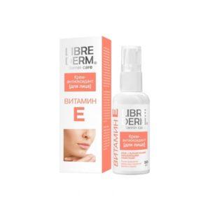 LIBREDERM - ВИТАМИН Е - увлажнение кожи, антиоксиданты, уход за кожей лица, витамины для кожи лица, состав крема, увлажняющий крем
