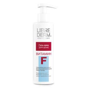 """LIBREDERM - коллекция """"Витамин F"""", средства для умывания, очищающие средства для сухой кожи, уход за сухой кожей тела, гель для душа"""