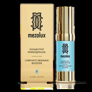 Косметика Librederm Mezolux концентраты дренаж и детокс, активные сыворотки, космецевтика, от отеков на лице, от мешков под глазами