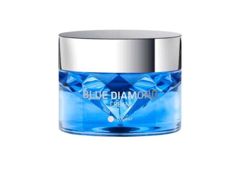 Colway для увлажнения кожи, крем голубой алмаз