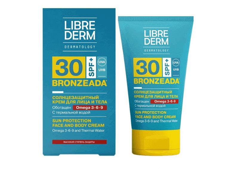 Librederm Bronzeada защита от солнца