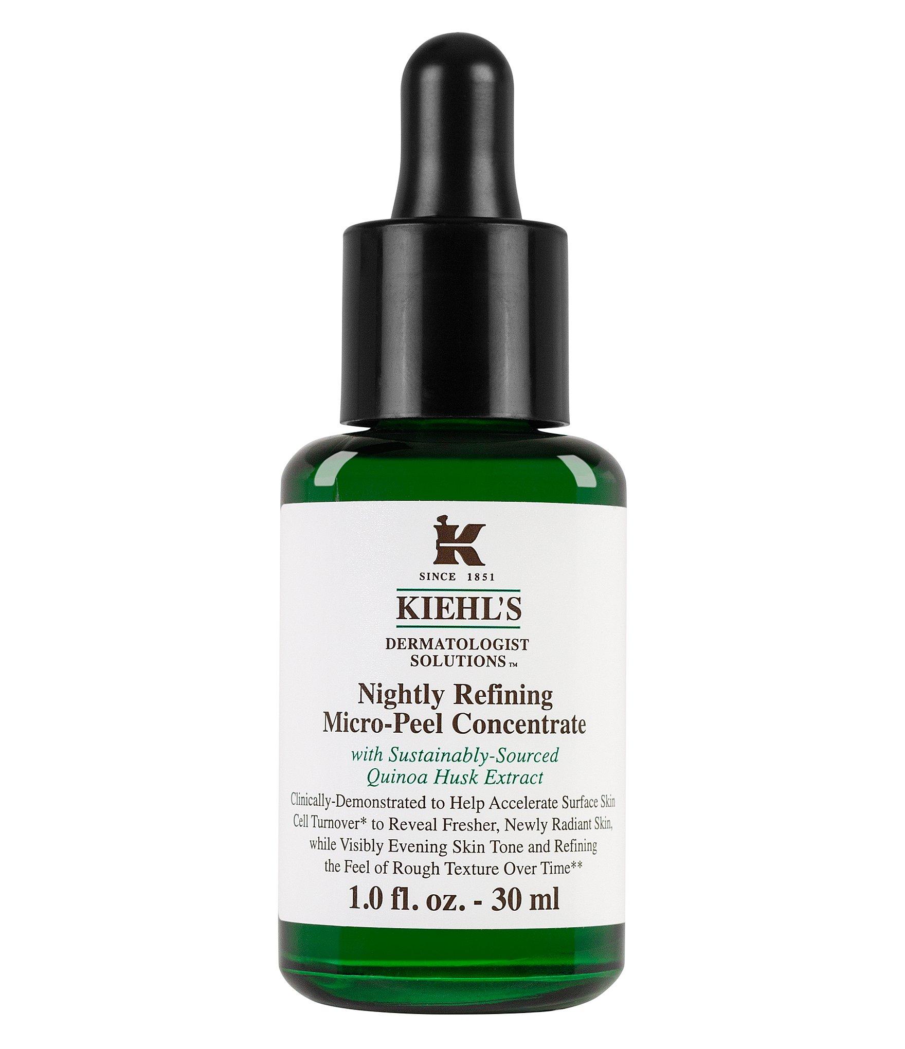 Косметика Kiehl's - пилинги, обновление клеток кожи, отшелушивание клеток кожи, пилинги
