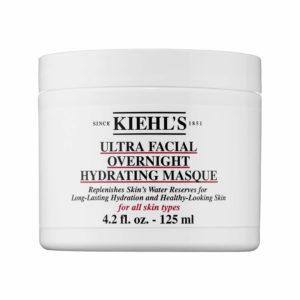 KIEHL'S ULTRA FACIAL - очищающий гель и маска, увлажняющая маска, маска для сухой кожи лица