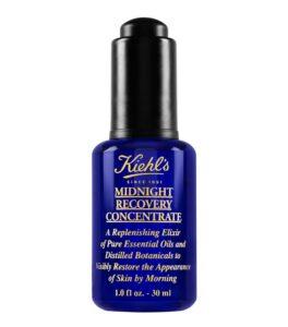 KIEHL'S - MIDNIGHT RECOVERY - уход вокруг глаз и концентрат, активные сыворотки, уход против старения кожи, средства anti-age