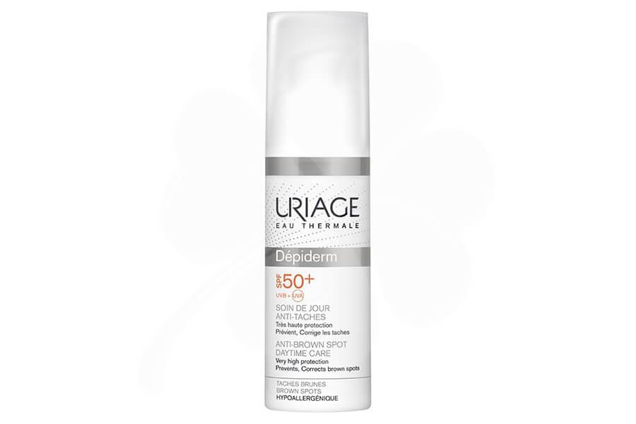 Uriage Depiderm Дневной крем против пигментных пятен с UVA/UVB защитой SPF 50