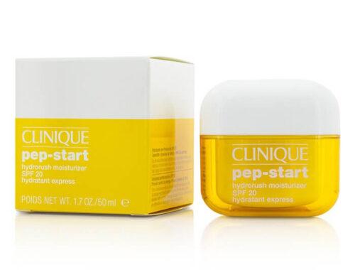 Clinique Pep-Start для отшелушивания, сияния, увлажнения и защиты