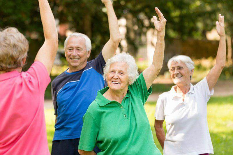 Рецепты активного долголетия, спорт на свежем воздухе