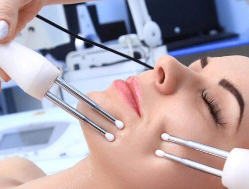 Аппаратная косметология при чувствительной коже, микротоки