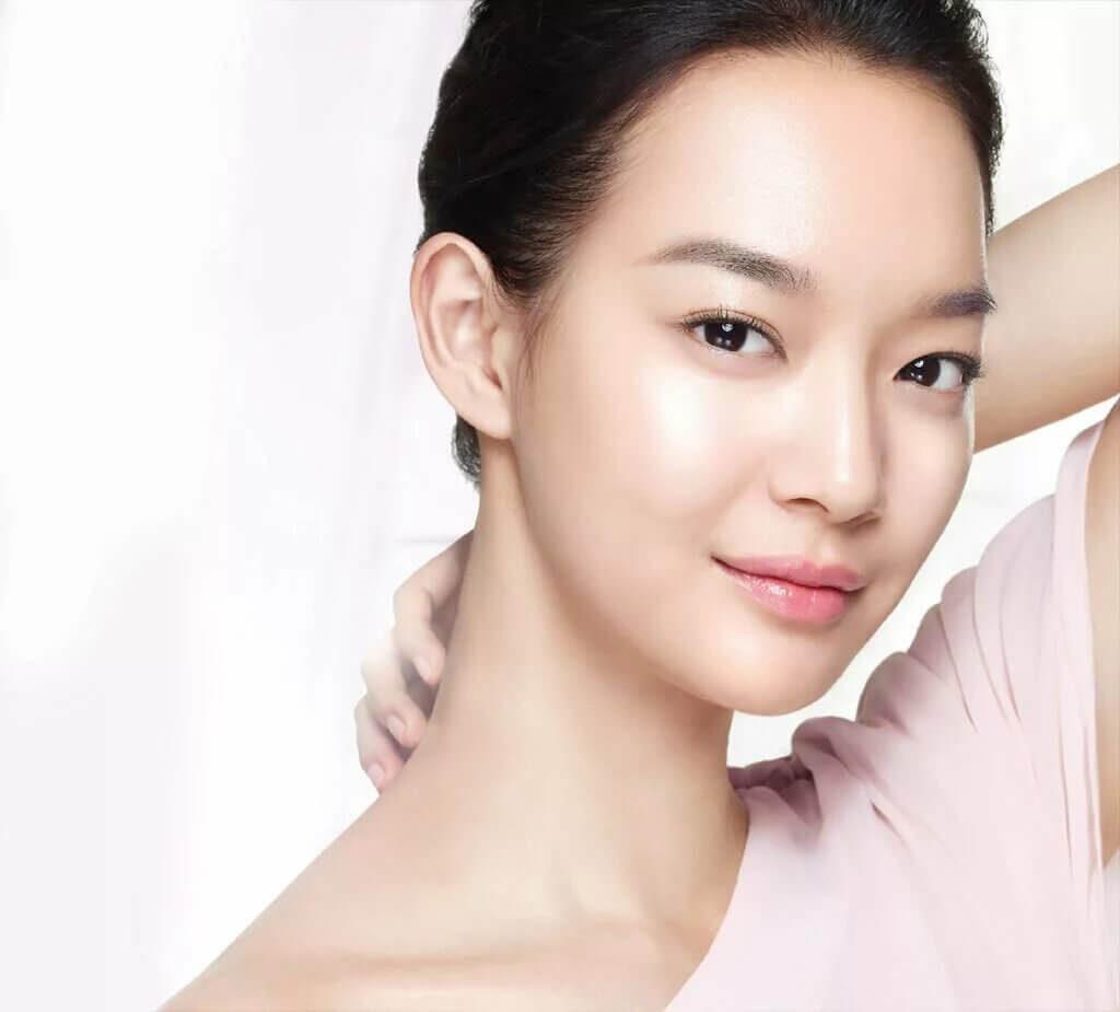 азиатский тип кожи