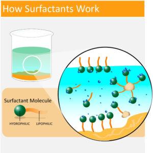 Сурфактанты и ПАВ - вред или польза, строение ПАВа