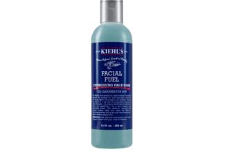 Kiehl's for men коллекция Facial Fuel для очищения кожи